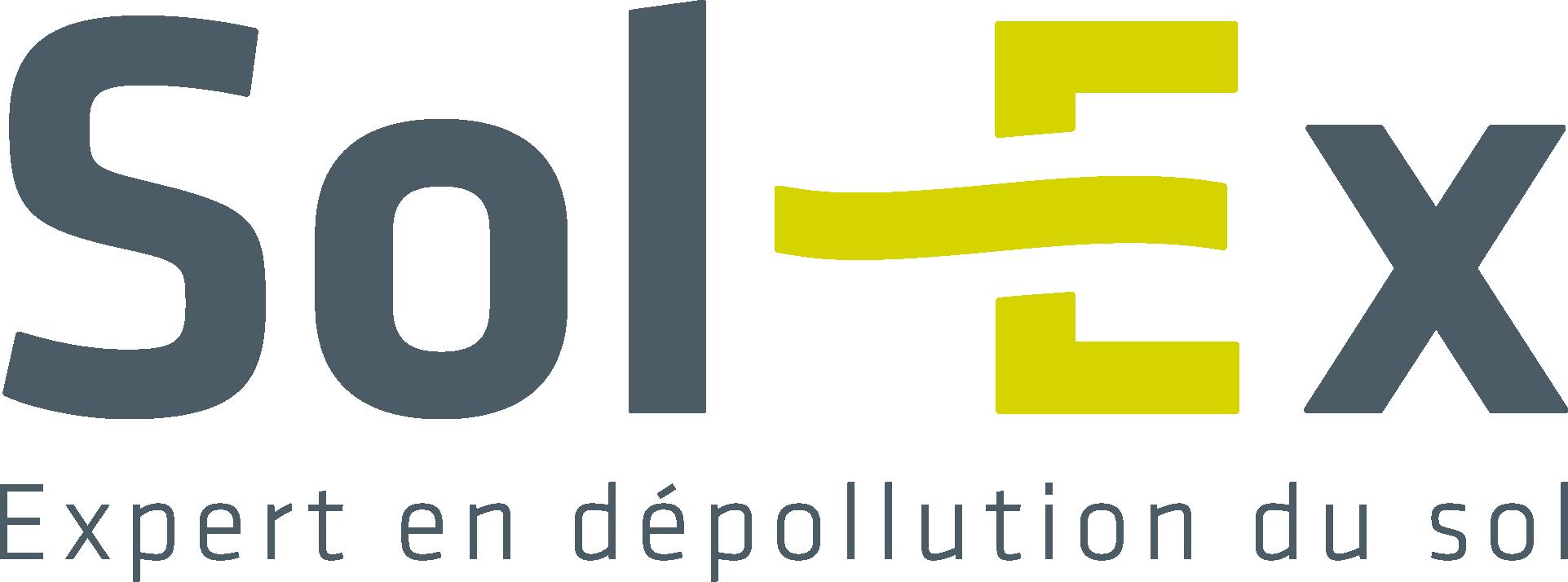 Logo Sol-Ex, Expert en dépollution du sol